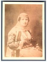 Algérie, Type algérienne  Vintage albumen print.  Tirage albuminé  10x14