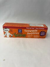 Kiss My Face-Berry Smart Kids Toothpaste - Fluoride Free,  Worn Box Edges