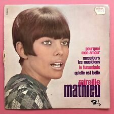 Mireille Mathieu - Pourquoi Mon Amour - Barclay BLY-70996 Ex Condition