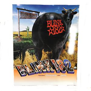 """Vintage Blink-182 """"Dude Ranch"""" Promotional Poster Pop Punk Travis Barker UFOs"""