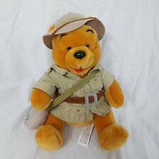 Walt Disney World Safari Winnie The Pooh Soft Toy