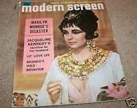 10/1962  MODERN SCREEN MOVIE MAGAZINE - LIZ TAYLOR