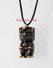 Happy Tiki Man Necklace Perfect for Your Next Tropical Island Hawaiian Luau