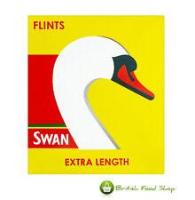 9 SWAN EXTRA LENGTH LIGHTER FLINTS UK FREEPOST - WORLDWIDE DELIVERY
