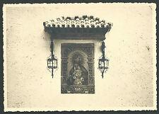 Foto antigua de la Virgen Macarena andachtsbild santino holy card  santini