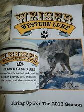 Weiser Western Lure 4 oz. Beaver Gland Lure /beaver, bobcat, coyote, fox
