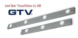 LED BAR LIGHTS TOUCHLESS WITH MOTION SENSOR SWITCH UNDER CABINET KITCHEN LL-08