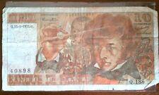 Billet de 10 francs Hector Berlioz année 1975