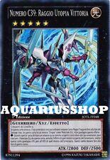 Yu-Gi-Oh! Numero C39 Raggio Utopia Vittoria JOTL-IT048 SuperRara Forte Nuovo ITA