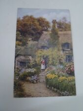 A R QUINTON Postcard 3046 COTTAGES, SELWORTHY GREEN  Unposted   §A2914