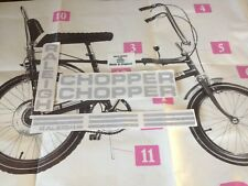 Raleigh Chopper MK1 complete decal sticker set correctly sized fonts