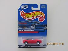 Hot Wheels 2000 BMW M ROADSTER RED BLACK BASE CARS B-G-GN
