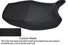 HIGH GRIP BLACK VINYL CUSTOM FITS HONDA CB 500 93-03 DUAL SEAT COVER