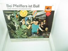 HORST WENDE'S ACCORDEON BAND - BEI PFEIFFERS IST BALL rare German vinyl LP Exc