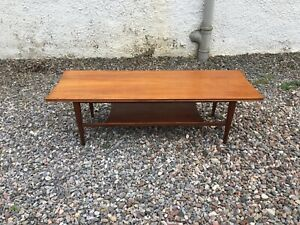 A Vintage 1960's Danish Style Coffee Table