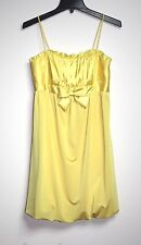 Jessica McClintock - NWOT - 7 (XS) - Yellow Formal Bubble Baby Doll Party Dress