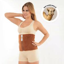 Rückenwärmer mit Kamelwolle Gr.54 Wärmender Gürtel  Nierenwärmer Leibwärmer