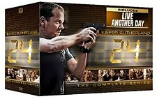 24: Complete Series Seasons 1 2 3 4 5 6 7 8 + Live Another Day DVD Boxed Set NEW