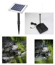 Pompe solaire avec filtre DE BASSIN FONTAINE D'IMMERSION D'étang jardin
