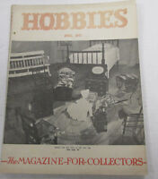 Hobbies Magazine For Collectors   Doll /Nursery Items April 1947    100914lm-e