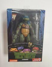 """Neca Gamestop Exclusive Teenage Mutant  Ninja Turtles 1990 LEONARDO 7"""" SEALED!!!"""