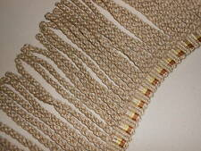 "5.5 Y NEW Lee Jofa CAROUSEL BULLION trim Golden Ivory 7"" long"