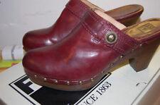 Leather Clogs Medium (B, M) 9 Flats & Oxfords for Women
