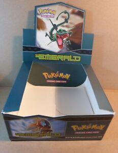 Pokemon Booster Box (1)(EMPTY)(Ex Emerald)