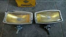 Hella 139 chrome yellow fog lights  VW Porsche Mercedes Ford Capri BMW