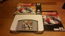 F1 Pole Position Nintendo 64 N64 Boxed CIB OVP PAL  #2