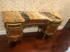 Antique Marble Top Vanity or Console Table or ( Sink )