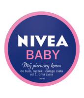NIVEA BABY My first cream from first day of life / Moj pierwszy krem 200ml