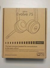 Jabra Evolve 75 Stereo Wireless Headset / Music Headphones