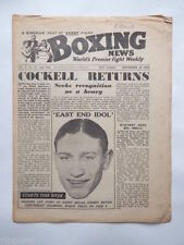 September The Ring Boxing Sports Magazines in English