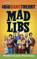 The Big Bang Theory Mad Libs Marchesani, Laura Good
