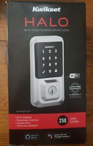 Kwikset HALO Wi-Fi Touchscreen Smart Lock 939WIFITSCR15 Satin Nickel NEW in Box