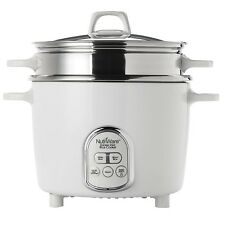 Aroma Housewares NutriWare 14-Cup (Cooked) Digital Rice Cooker & Food Steamer