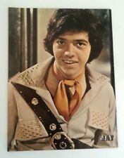 OSMONDS: Jay with orange scarf magazine PHOTO/Poster/clipping 12x9 inches