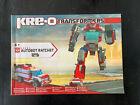 Kre-o Transformers 30662 Autobot Ratchet Instruction Manual