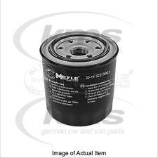 New Genuine MEYLE Engine Oil Filter 30-14 322 0001 Top German Quality