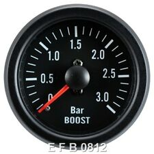 Cara Negra 52 mm 3 Bar Turbo Diesel Boost Gauge – sistema mecánico-TDI-TD-DT