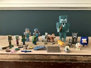 minecraft figures bundle