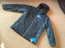 New Mens Columbia L Snow Shooter Hooded Jacket. Waterproof Jacket.  Navy/green