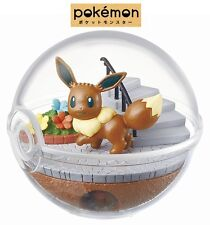 RE-MENT Pokemon Terrarium Collection Pocket Monsters Ball Figure 6 Eevee Eievui