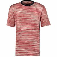 Missoni Contrast Collar T-Shirt Red & Navy