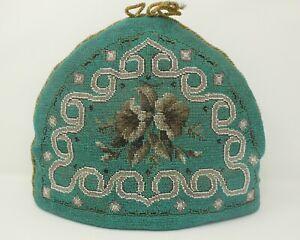 Antique Victorian Beadwork Tea Cosy