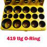 Deutscher Standard O-Ring Sortiment 419 tlg Set Dichtungsringe Dichtung Ringe DE