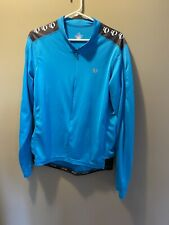 Pearl Izumi Select Long Sleeve Jersey Cycling Mens L Blue Solid