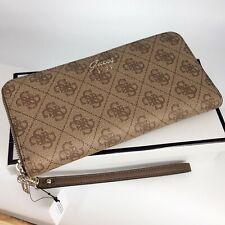 Guess Geldbörse Portemonnaie Brieftasche braun unbenutzt #4252