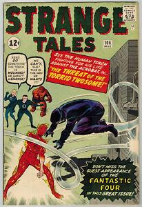 Strange Tales 106 1963 VF- Human Torch Fantastic Four Kirby